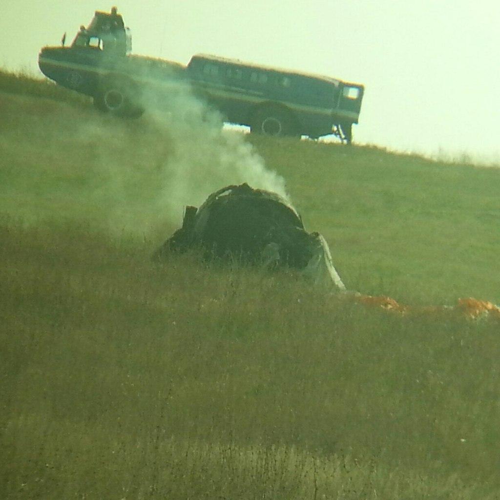 Неопознанный летающий объект упал в Шарлыкском районе