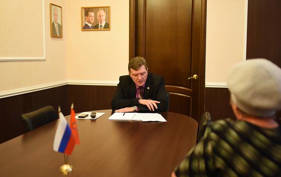Общероссийский день приема граждан в Медногорске