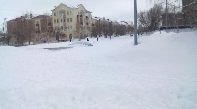 В Медногорске нечищеные улицы города вызвали возмущение граждан