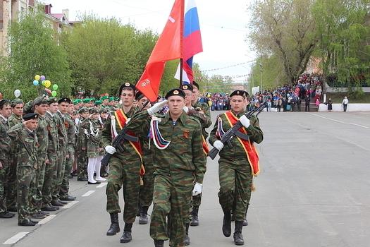 В Медногорске 9 Мая отпраздновали по-советски