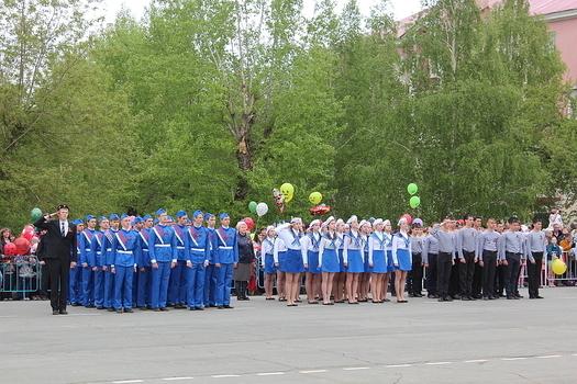 9 Мая Медногорск Площадь им. Ленина