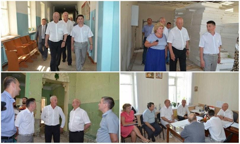 Юрий Берг посетил Медногорск и пообещал отремонтировать городскую поликлинику