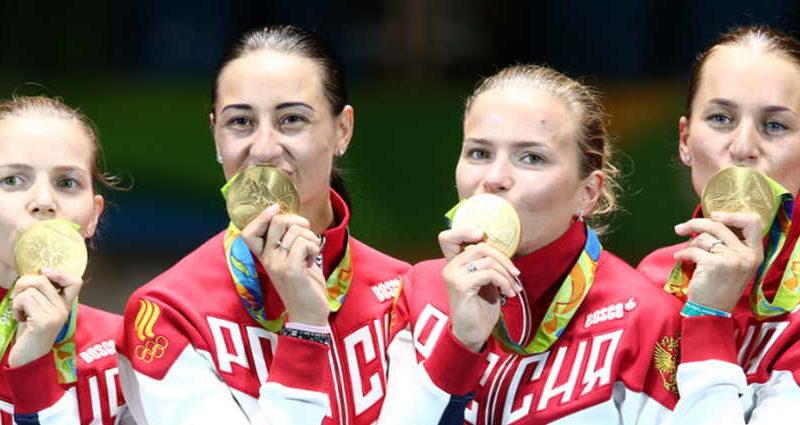 У России 12 медалей и 5 место в общем зачете