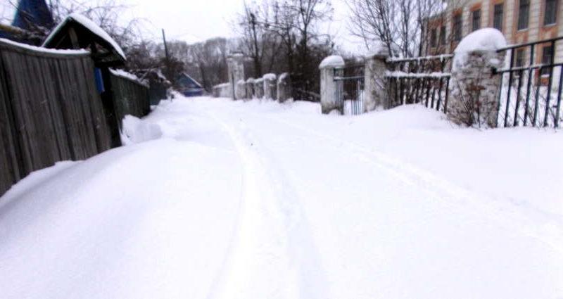 Снег всему голова в Медногорске