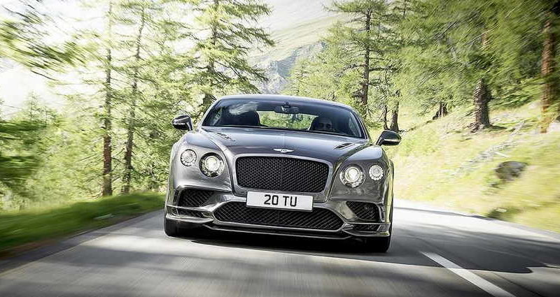 Самый быстрый Bentley Continental Supersports