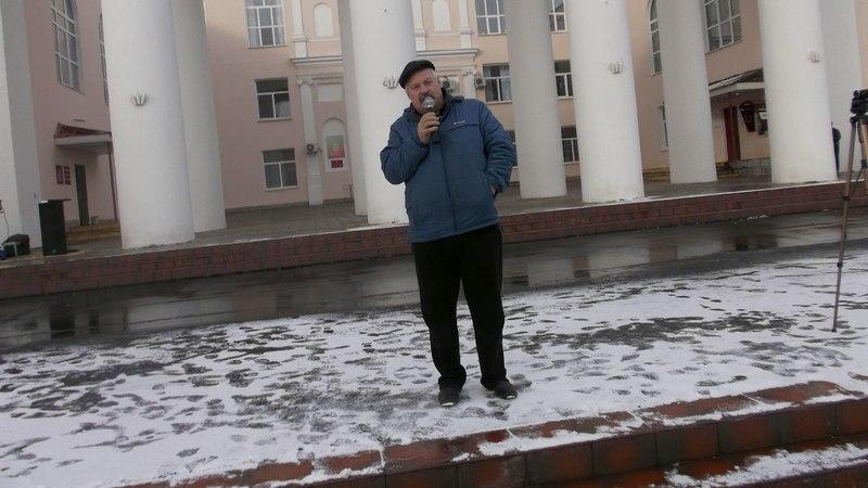 Митинг в Медногорске