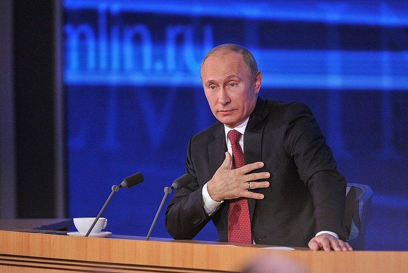 Пресс-конференция с Владимиром Путиным 2017