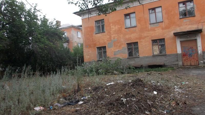 Заброшенное здание в Медногорске