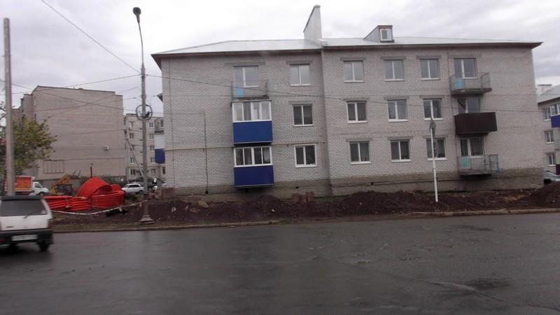 Новый дом для переселенцев в Медногорске