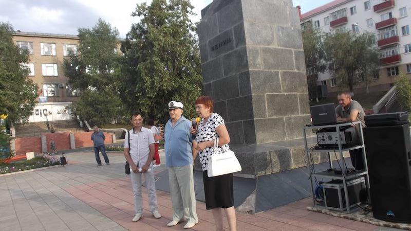 Митинг коммунистов в Медногорске
