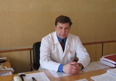 Главврач медногорской больницы А. Перегудов
